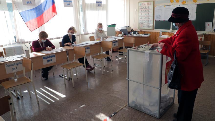 Rusia celebra la última jornada de sus elecciones legislativas