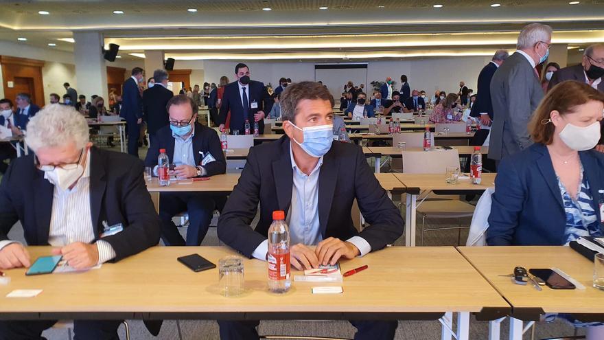 """Mazón exige a Puig que trabaje por la recuperación del turismo y critica su """"madrileñofobia"""""""