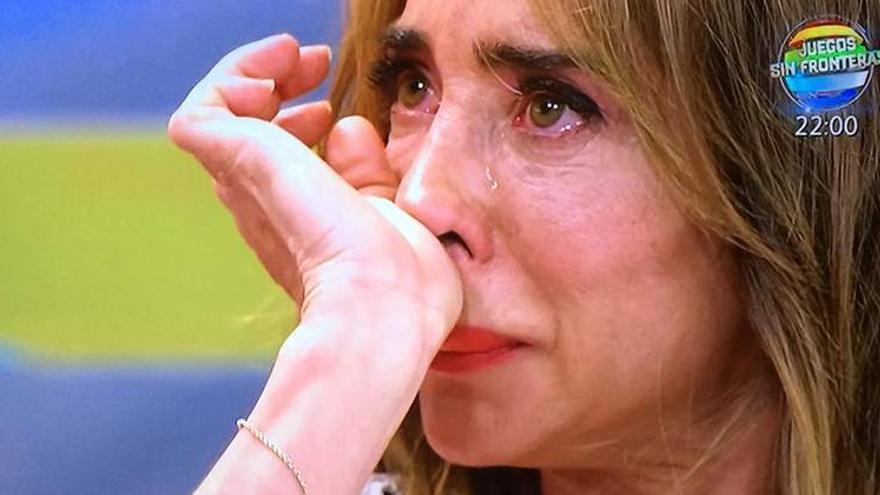 María Patiño llora en Sálvame traumatizada al conocer el resultado de su test de inteligencia