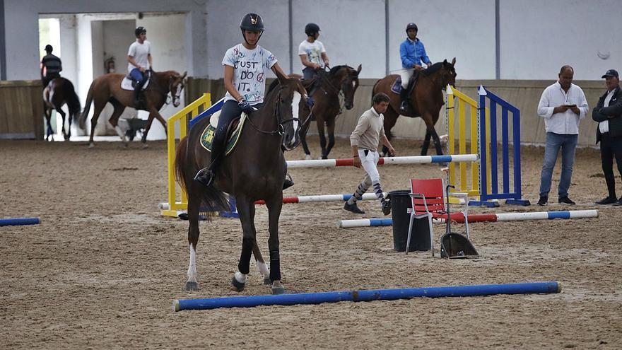 Un centenar de participantes en el concurso regional y de caballos jóvenes