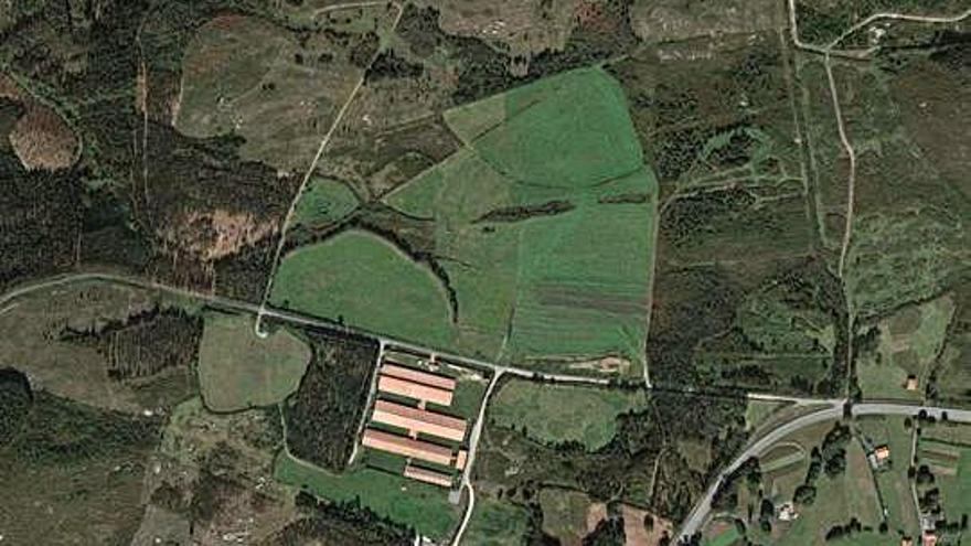 La Sareb pone en venta los terrenos de un polígono proyectado en Coirós en 2002