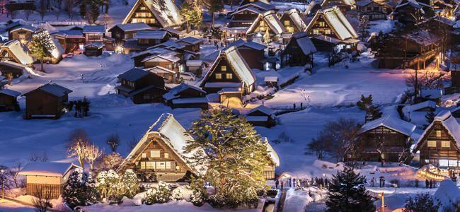 Pueblos sacados de un cuento de Navidad