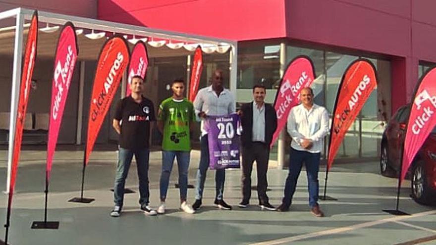 El MITourA Handbol Marratxí presenta su nueva camiseta