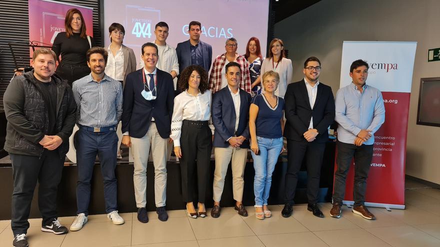 Encuentro en Elda de los empresarios jóvenes del Vinalopó