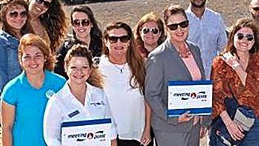 Cinco premios por contribuir a mejorar el destino turístico insular
