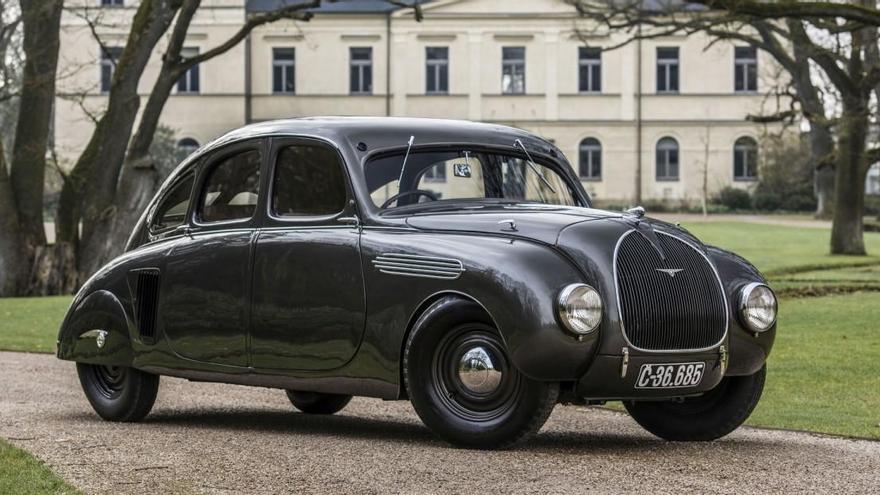El impactante prototipo Skoda 935 Dynamic cumple 85 años