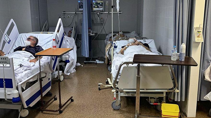 Los contagios de sanitarios se disparan un 32 % en una semana
