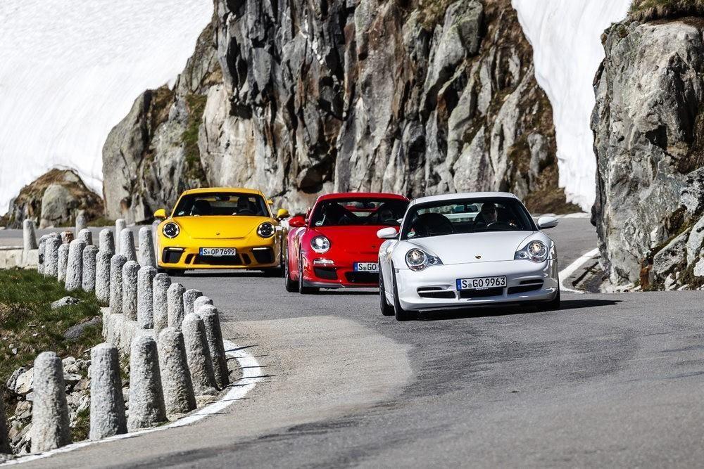 Porsche 911 GT3: un repaso en fotos a sus 20 años de historia