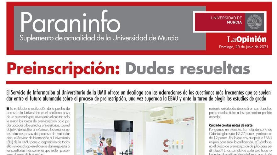 Paraninfo UMU 20 de junio