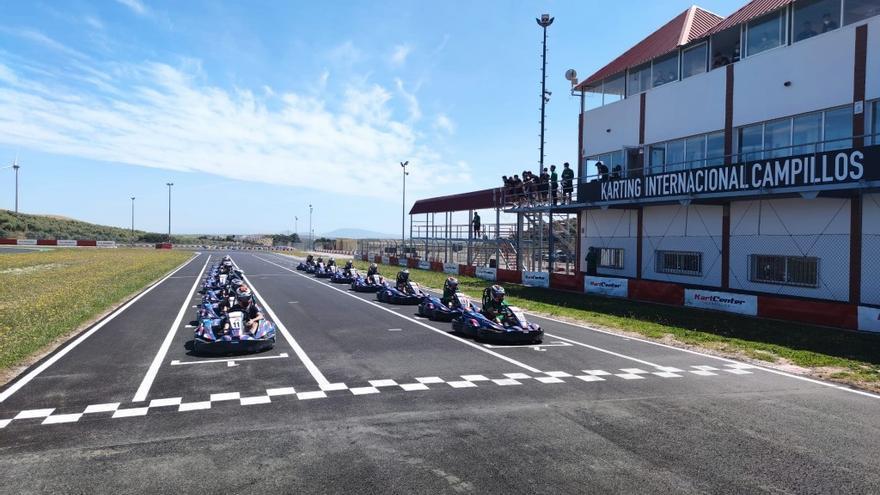 Isma Casas y Matos lideran al Málaga en la pista