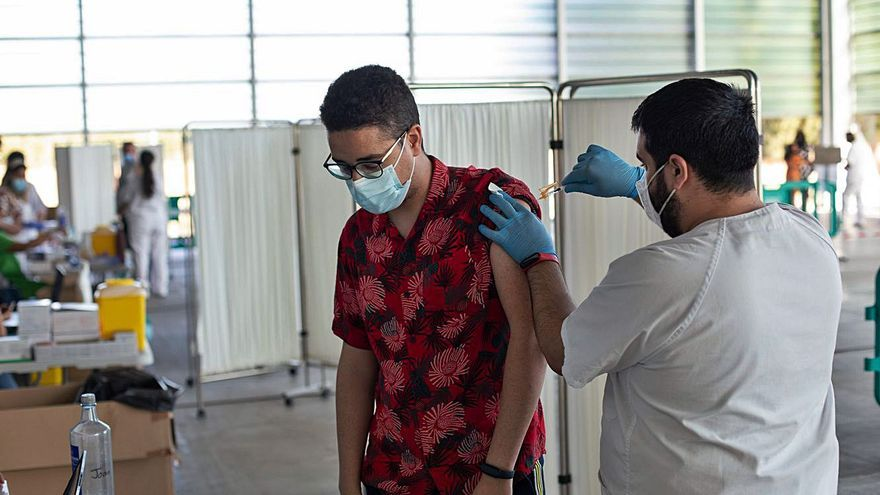 Los alumnos Erasmus también se vacunan