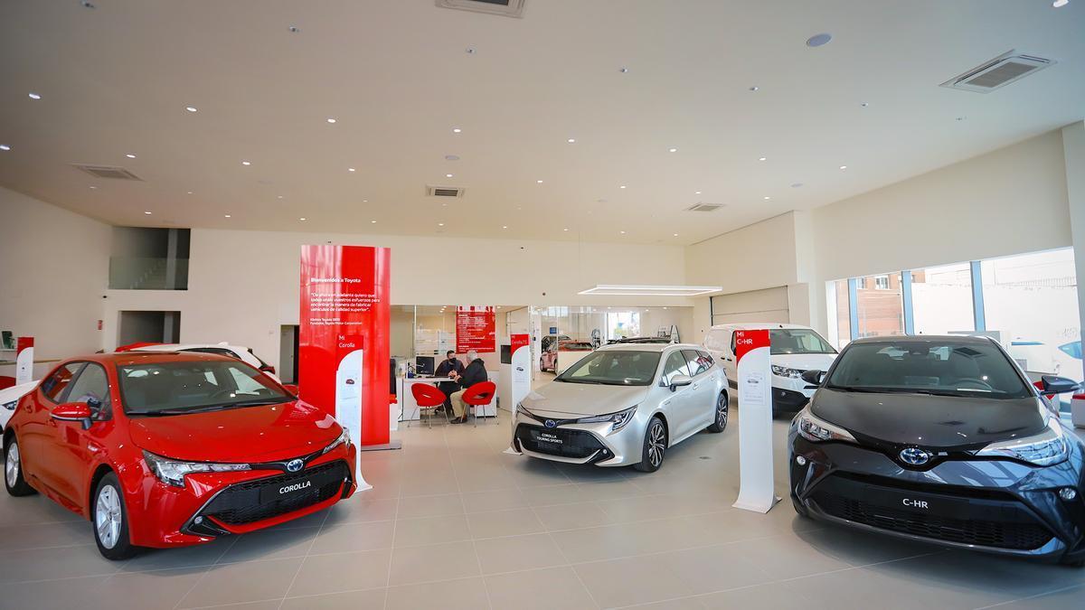 Toyota estrena nuevas instalaciones de más de 2400 metros cuadrados en Torrevieja.