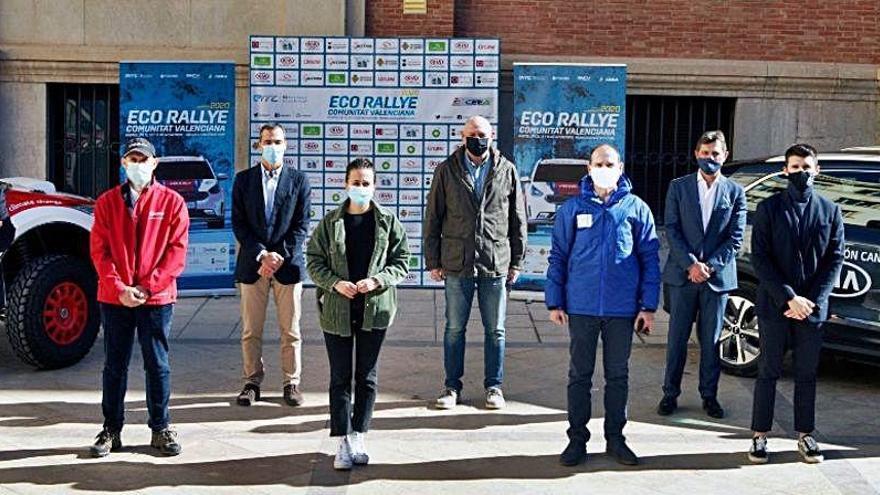 El Eco Rally de la Comunitat Valenciana, en la línea de salida