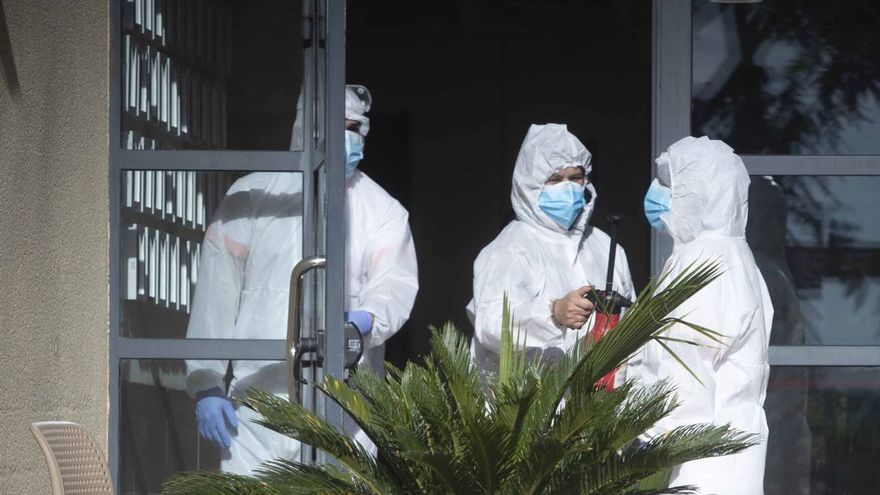 Un brote de coronavirus en la residencia de Massanassa suma 124 positivos