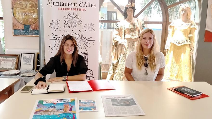La ilustradora Martutxa Casares realiza el cartel de las fiestas patronales de Altea de este año