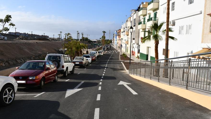 Mogán urbaniza la calle Gara de Arguineguín