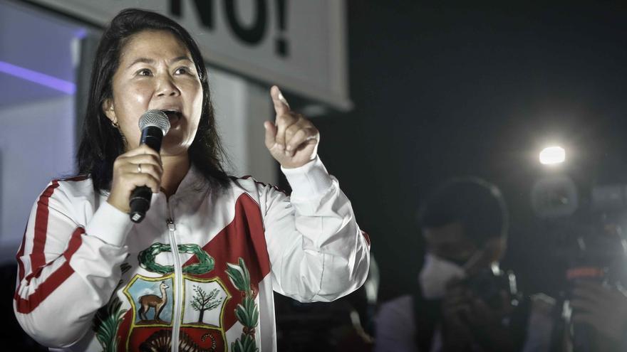 """Fujimori exige un recuento de votos """"hasta el final"""""""