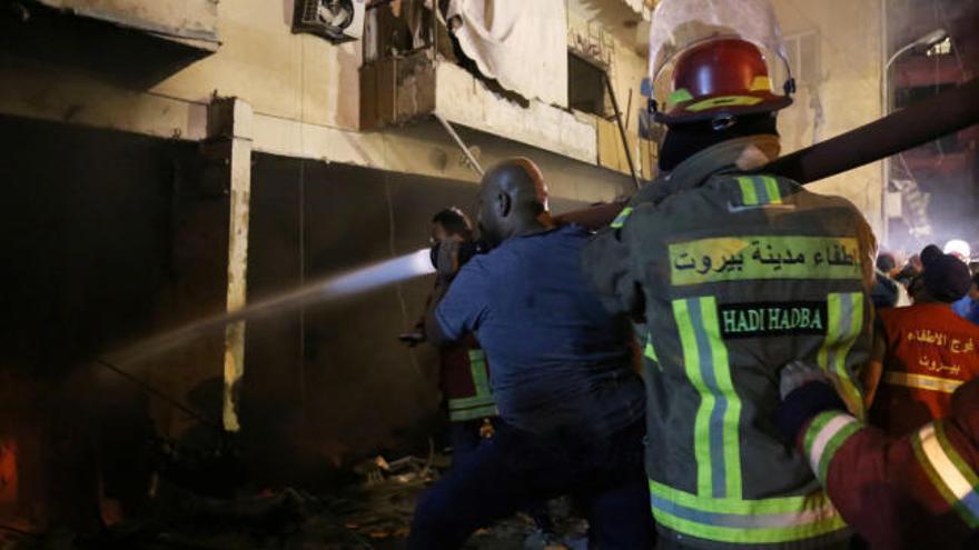 Al menos cuatro muertos por una explosión en Beirut