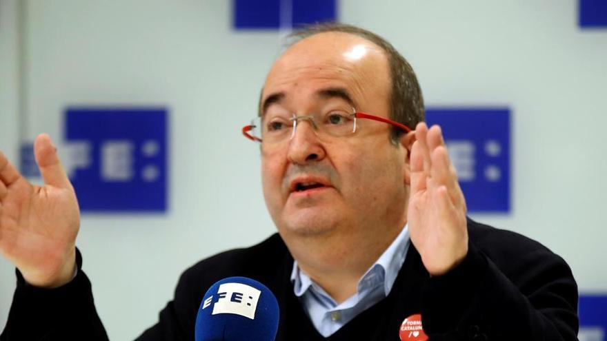 """Iceta no cambiará su idea de Cataluña como nación """"para acceder a un ministerio"""""""