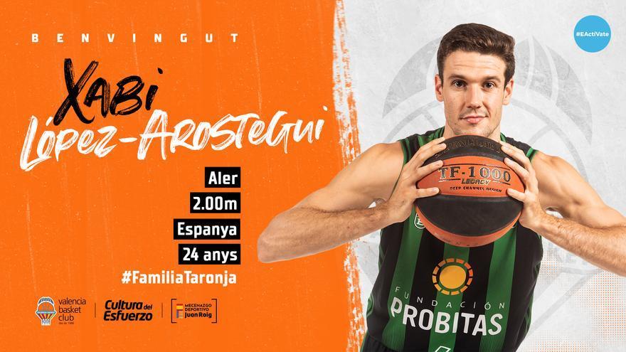 El Valencia Basket hace oficial el fichaje de Xabier López-Arostegui