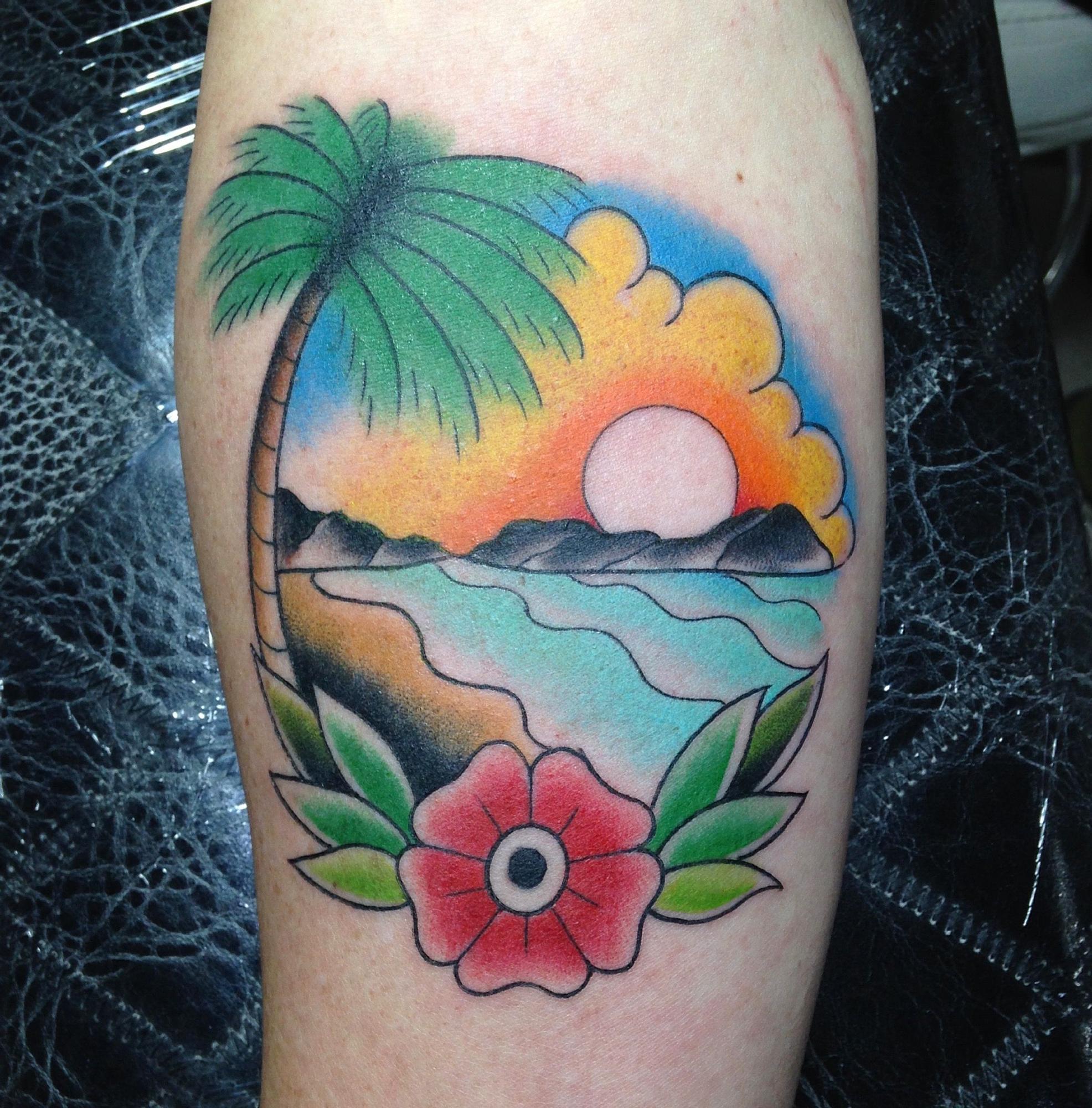 Las Islas Cíes. // Karde ( Loco Destino Tatuajes)