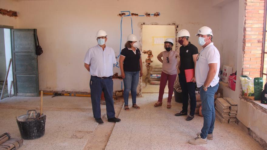 Las obras de rehabilitación del local social de La Raja en Jumilla finalizarán en septiembre