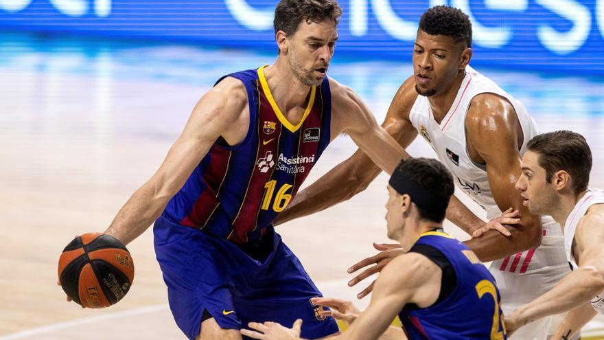 Final de la ACB: Barcelona - Real Madrid