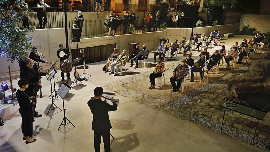 Música antigua en Sagunt en un entorno único
