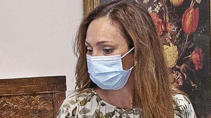 Sandra Domínguez deja el grupo de NC y debilita la mayoría que apoya al Gobierno
