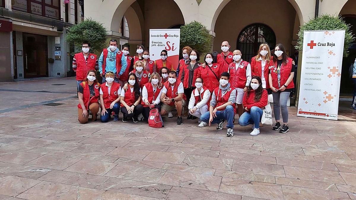 Celebración en Langreo del Día Mundial de la Cruz Roja |