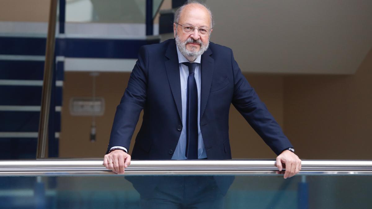 Carlos Arias, decano del Colegio de Abogados de Córdoba.