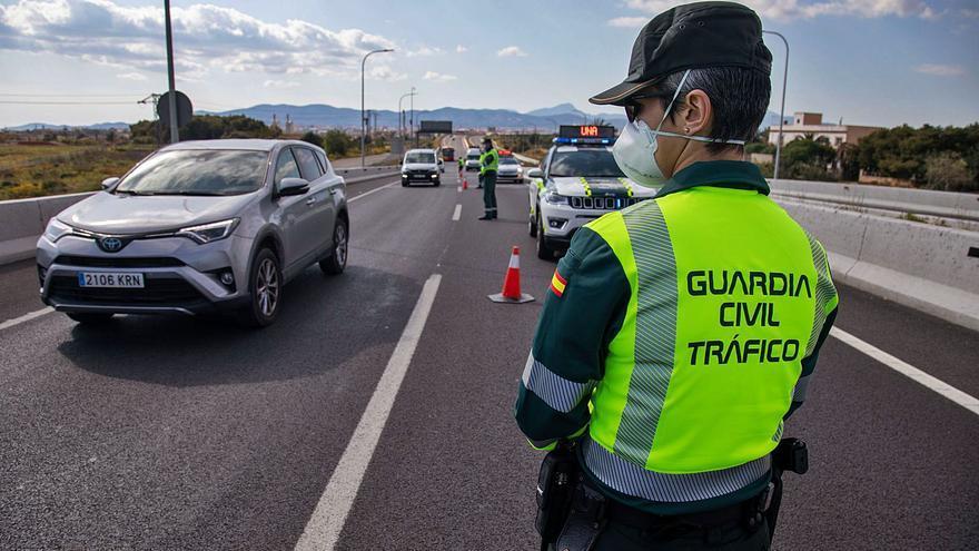 Las multas de Tráfico se elevan casi un 45% en Baleares tras reducirse las restricciones a la movilidad