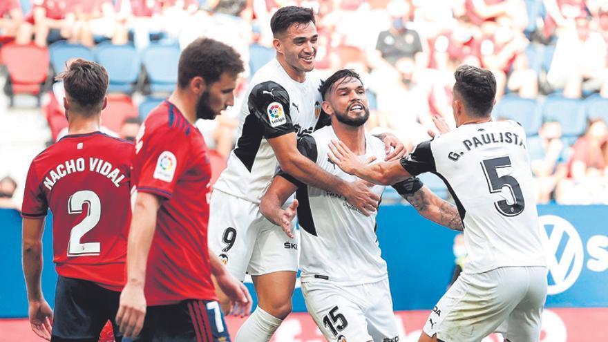 Alderete y Maxi Gómez siguen volando