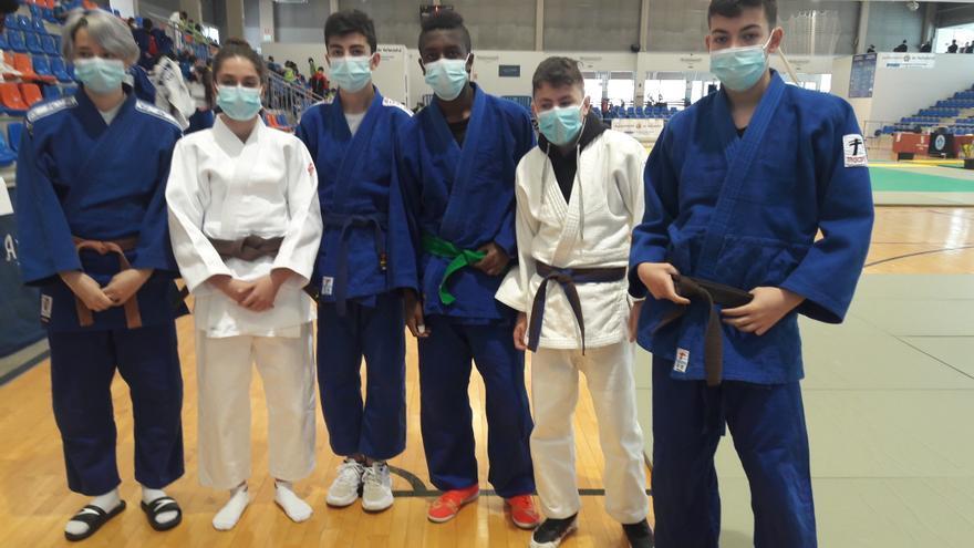 Cuatro medallas para el Judo zamorano en el Regional de Valladolid
