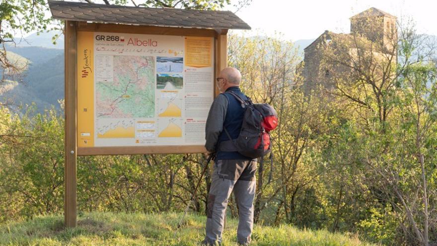 El nuevo Camino de Úrbez se inaugura tras 10 años de trabajos