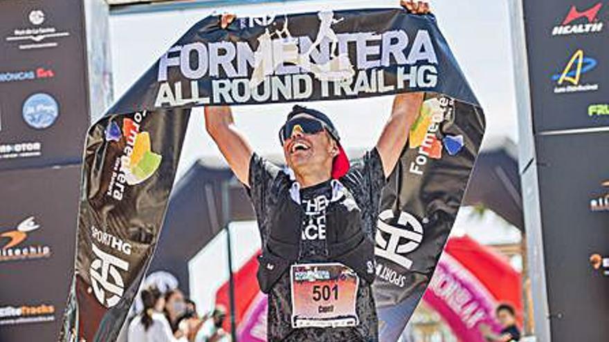 Azara García logra hacer historia en la Formentera All Round Trail-HG