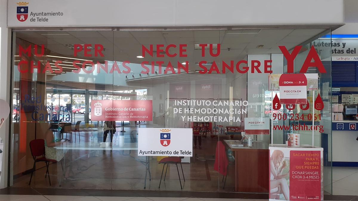 Hemodonación mantendrá abierto el punto de donación en el Centro Comercial Alcampo Telde durante todo el verano