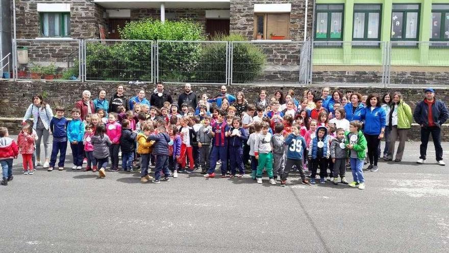 Los colegios de Oscos y Fonsagrada (Lugo), de convivencia