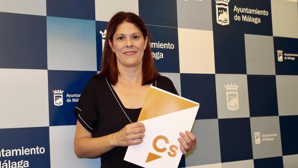 La edil de Cs en el Ayuntamiento de Málaga, Noelia Losada.