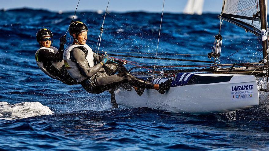 Tara Pacheco arranca sexta en Lanzarote