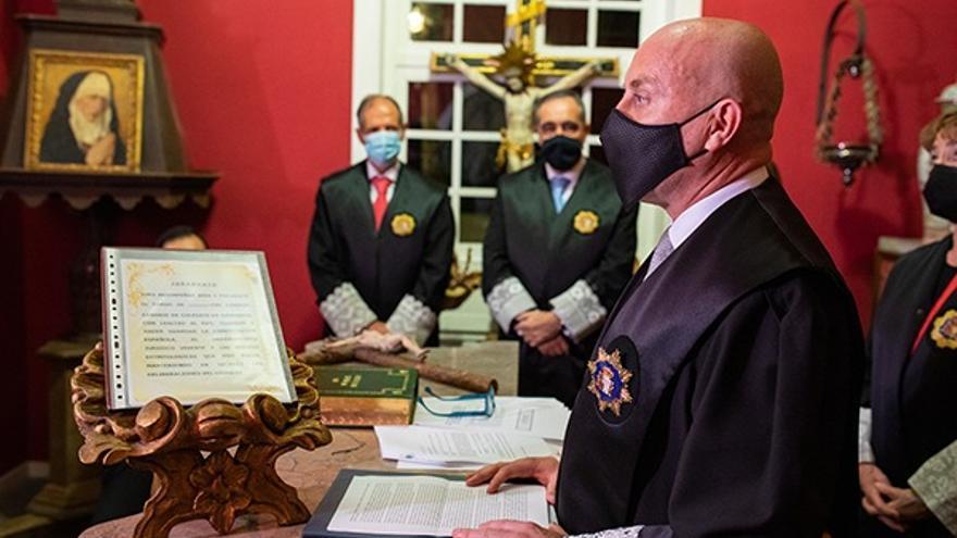 El palmero Juan Antonio Rodríguez, nuevo presidente del Consejo Canario de Colegios de Abogados