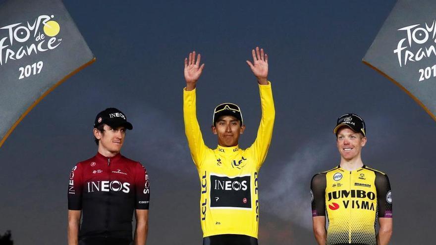 Los grandes favoritos del Tour de Francia 2020