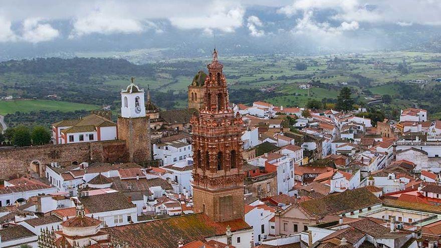 Jerez de los Caballeros, que roza los 45 grados, marca la temperatura máxima de Extremadura