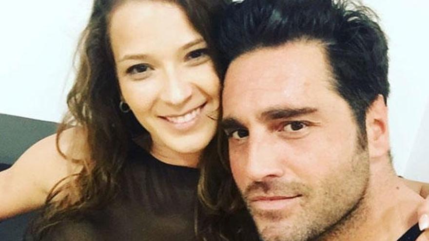 David Bustamente y Yana Olina, escapada a Santiago de Compostela