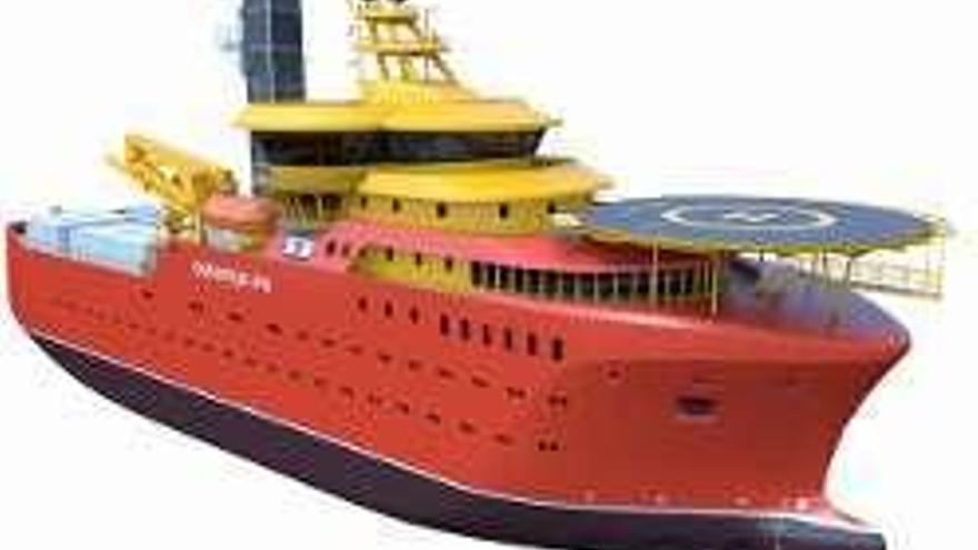 Gondán firma un pedido de cuatro buques de casi 90 metros para el sector eólico