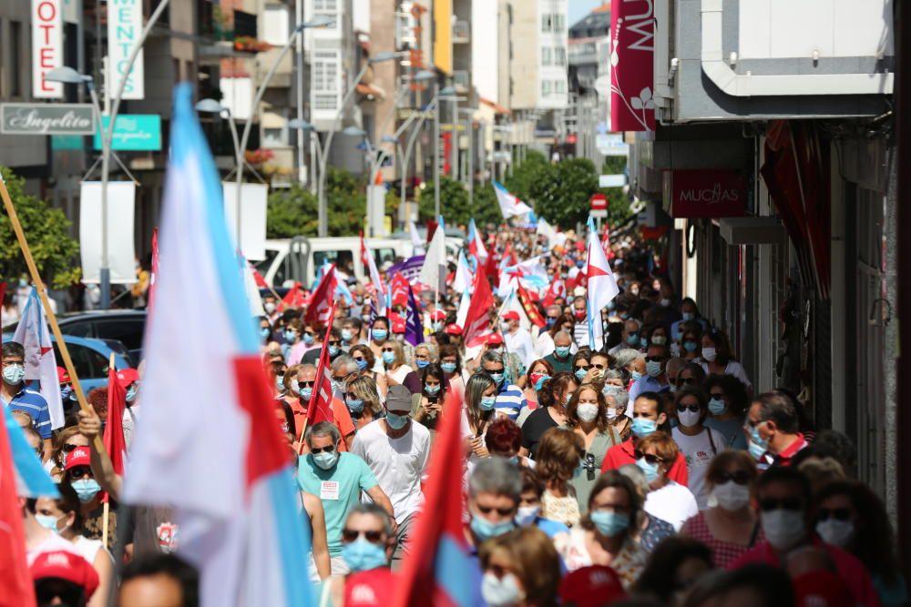 Manifestación en defensa de Thenaisie Provote.