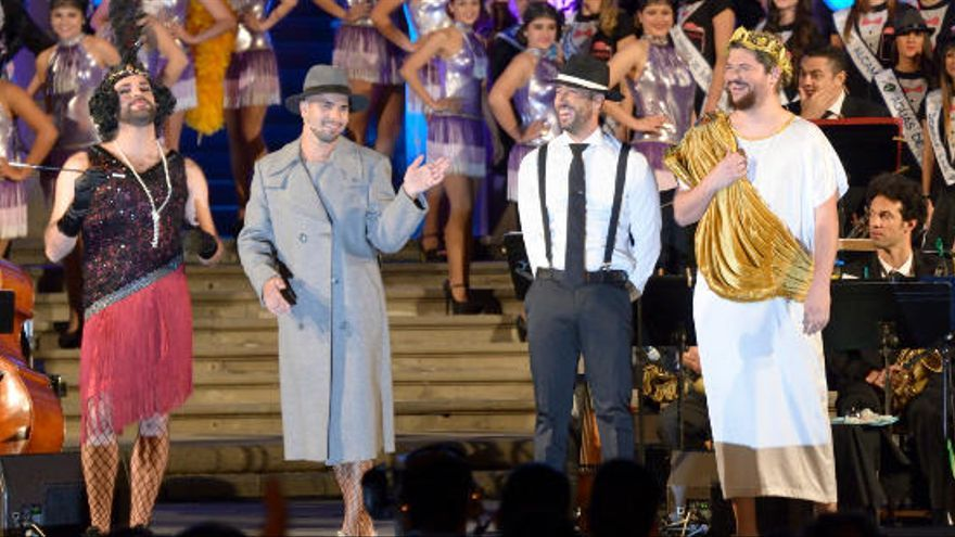 Efecto Pasillo pone música al pregón del Carnaval