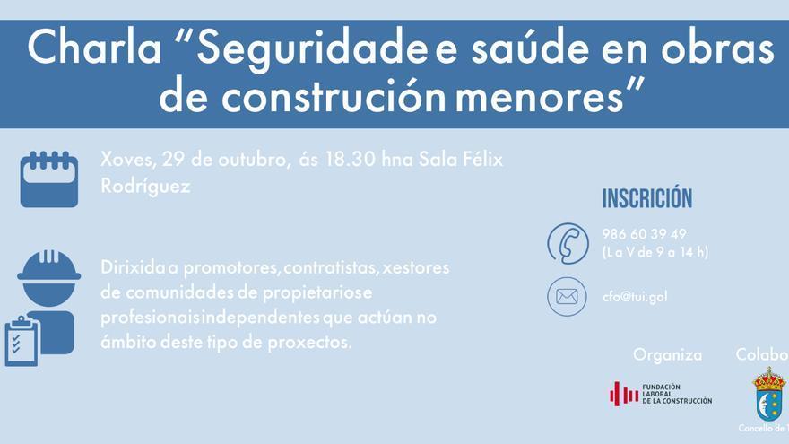 Seguridade e saúde en obras de construción menores