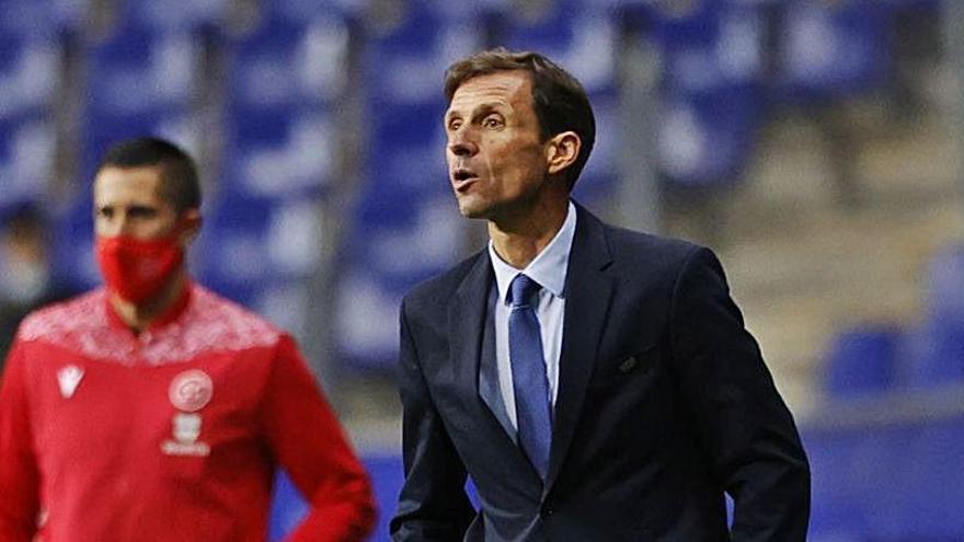 """Ziganda, tras caer ante el Burgos: """"El entrenador siempre tiene el puesto en riesgo"""""""