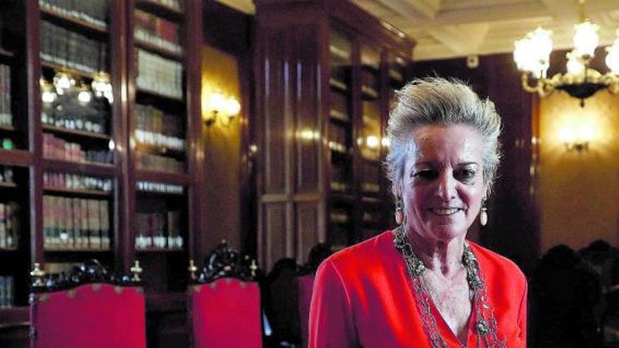 La jueza que rompió el techo de cristal del Supremo